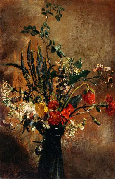 Study of Flowers in a Hyacinth Glass 1814
