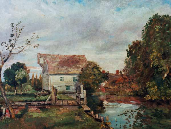 Constable / Mill by the River Stour