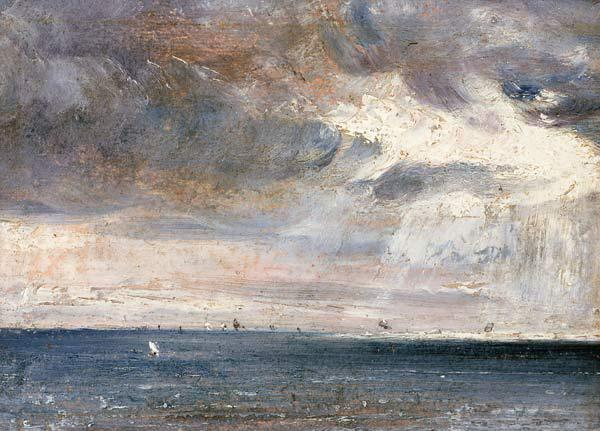 Study of Sea and Sky ( A Storm off the South Coast)