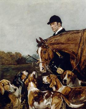 George Wateridge, Huntsman to the New Forest Buckhounds