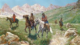 In the Cheyenne Country 1896