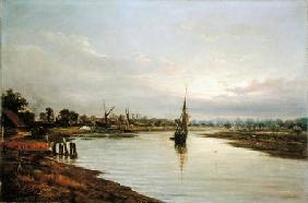 On the Deben, Hackney 1884