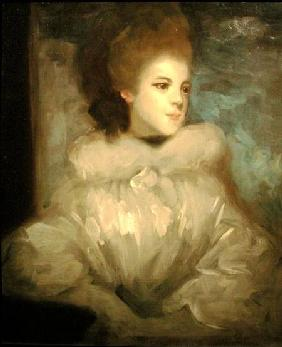 Mrs Francis Abington (1737-1815), after Joshua Reynolds (1723-92) c.1890