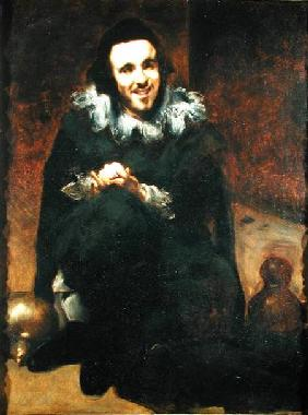 Don Juan de Calabazas, after Velazquez 1879