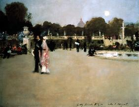 Luxembourg Gardens at Twilight