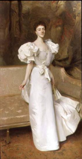 Portrait of the Countess of Clary Aldringen 1896