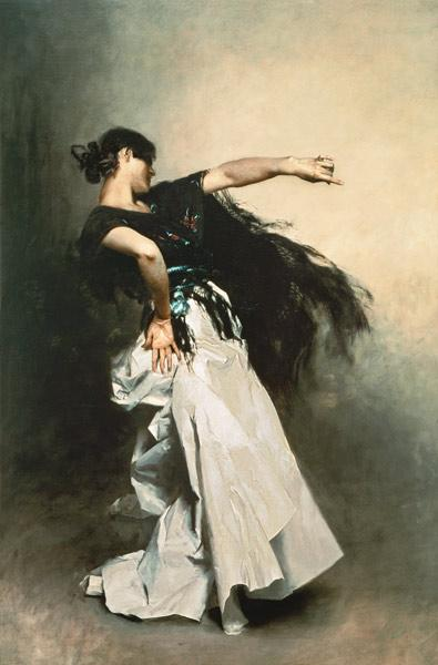 The Spanish Dancer, study for 'El Jaleo' 1882