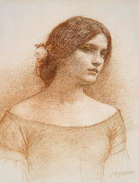 Study for The Lady Clare c.1900  ch