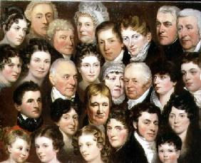 The Harvey Family of Norwich c.1820
