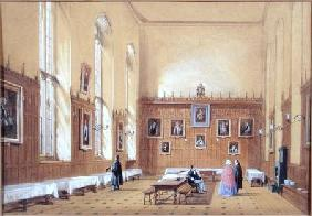 New College Hall 1858  on