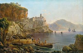 View Towards Atrani on the Amalfi 1817