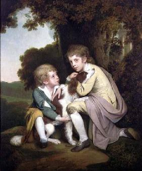 Thomas and Joseph Pickford as Children c.1777-9