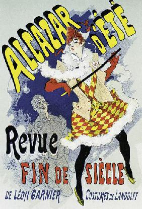 Poster advertising a show