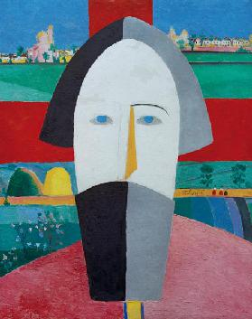 Malevich / Head of a Farmer
