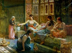 Interior of a Harem c.1865