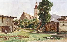 Kirche in Lengries. 1877