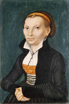 Katharina von Bora, future wife of Martin Luther 1526
