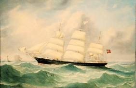 Full Rigged Ship 'Mary Scott' 1863
