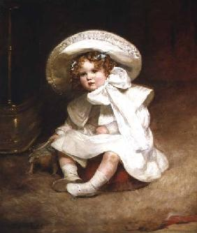 Portrait of Muriel, Daughter of Sir Charles Swinfen Eady Daughter o