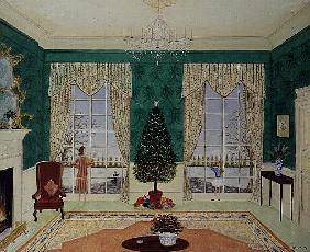 The Front Room at Christmas