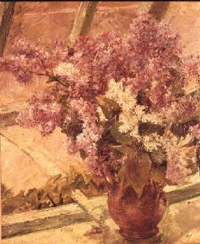 Vase of Lilac c.1889