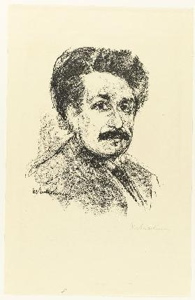 Portrait Albert Einstein 1925