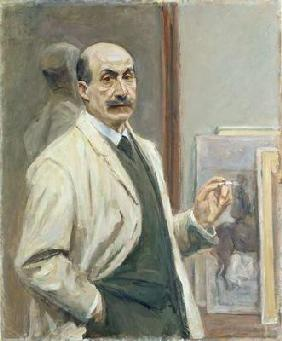 Self Portrait, 1910 (oil on canvas) 15th