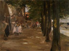 Gracht in Edam 1904