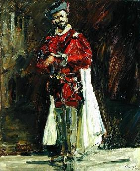Francisco D'Andrade (1856-1921) as Don Giovanni 1912