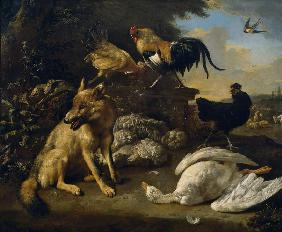 Still Life with Animals