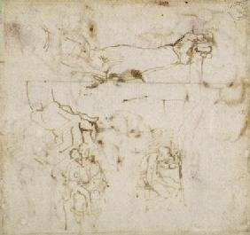 Study of an Arm, c.1511 (pen & ink on paper) 1601