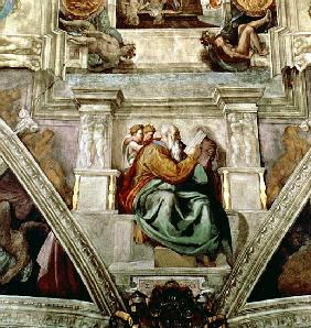 Sistine Chapel Ceiling, 1508-12 (detail of 177197)