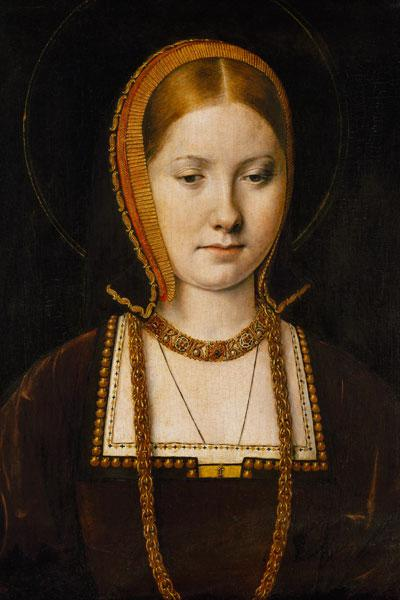 Sittow, Michiel : Mary Rose Tudor (1496-1533. - thm_sittow-portrait-of-a-woman