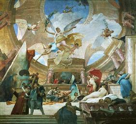 Apotheosis of the Renaissance  (for study see 70757)