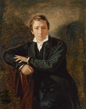 Portrait of Heinrich Heine (1797-1856)