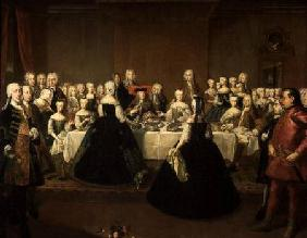 Wedding Breakfast of Empress Maria Theresa of Austria and Francis of Lorraine, later Francis I c.1736