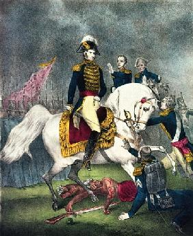 General William H. Harrison (1773-1841) at the Battle of Tippecanoe