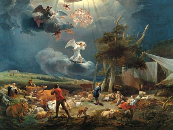 The Annunciation to the Shepherds 1656