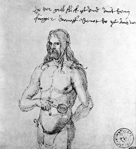 Albrecht Dürer/ Sick self-portrait