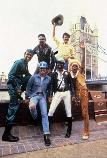 Les Village People in London August 1st