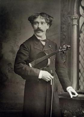 Pablo de Sarasate y Navascues (1844-1908), Spanish violinist and composer, portrait photograph by St