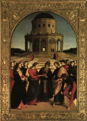 Raphael / Marriage of Mary / 1504