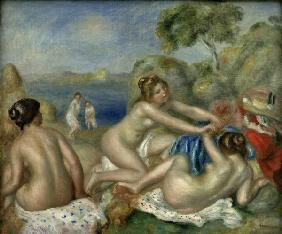 Renoir/Three bathers with a crab/c.1897