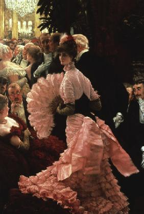 The Reception / Paint.by Tissot / c.1883