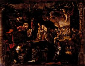 Tintoretto, Adoration of Kings