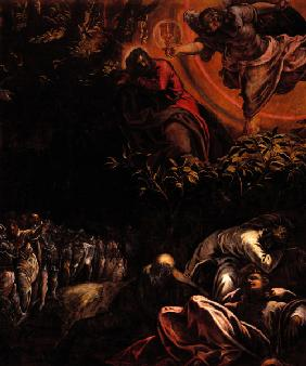 Tintoretto, Christ at Mount of Olives