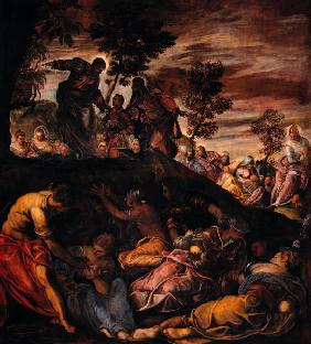 Tintoretto, Miracle of Loaves