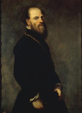 Tintoretto, Nobleman with Gold Chain
