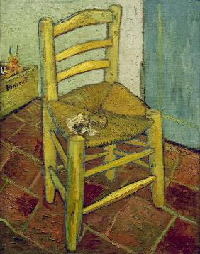 Van Gogh s Chair / Paint./ 1888