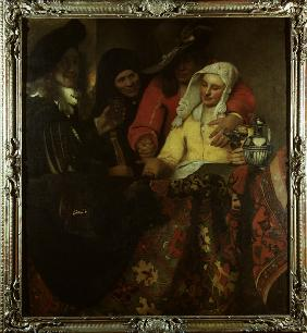 Vermeer / The Procuress / 1656